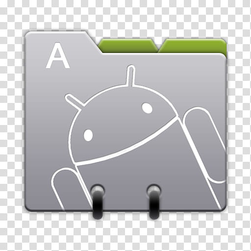 Android Icons R Honeycomb, Contacts, gray and green Android.