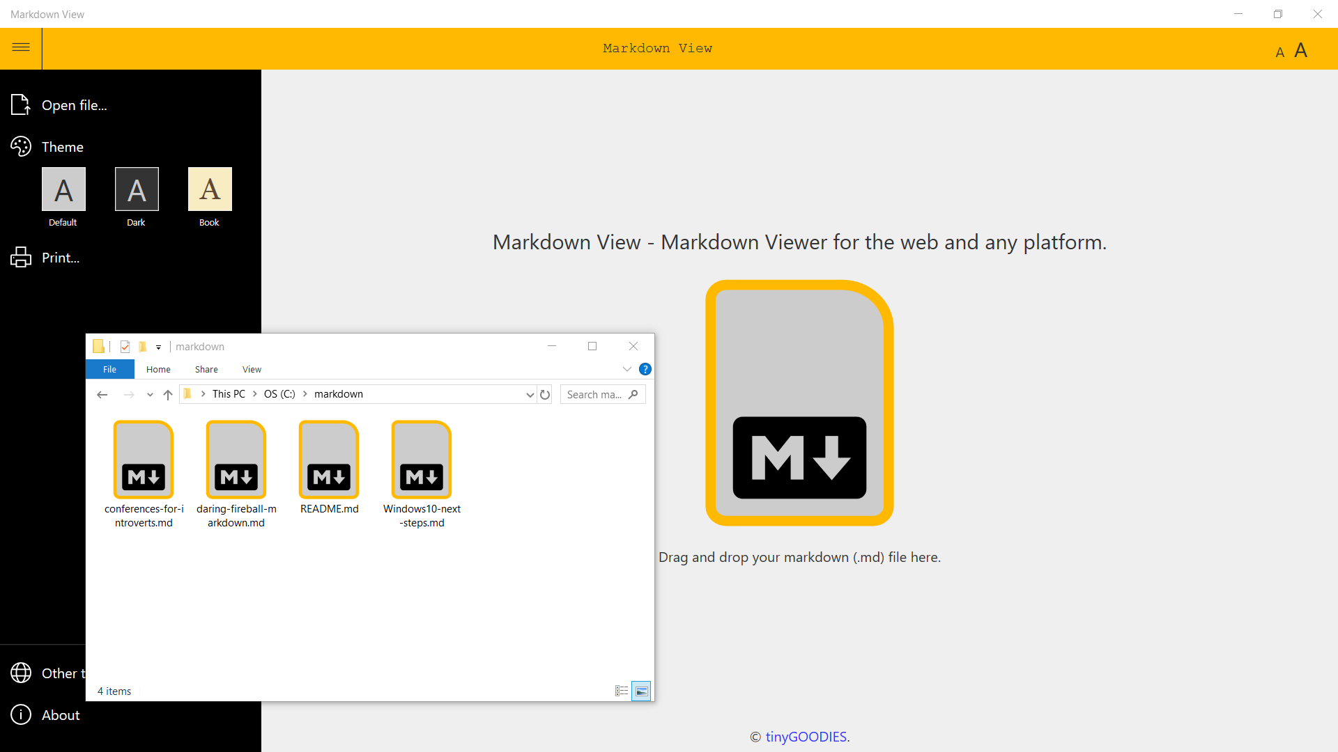 Markdown View — Markdown Viewer for the Web, Windows 10, Android and.