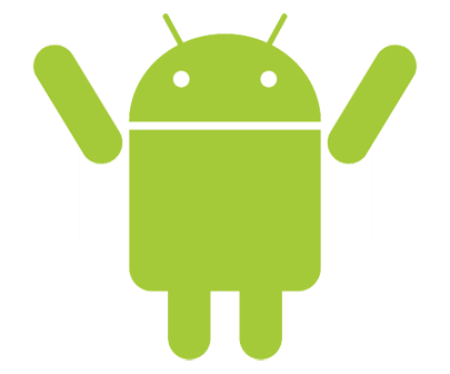 Android Robot Winner transparent PNG.