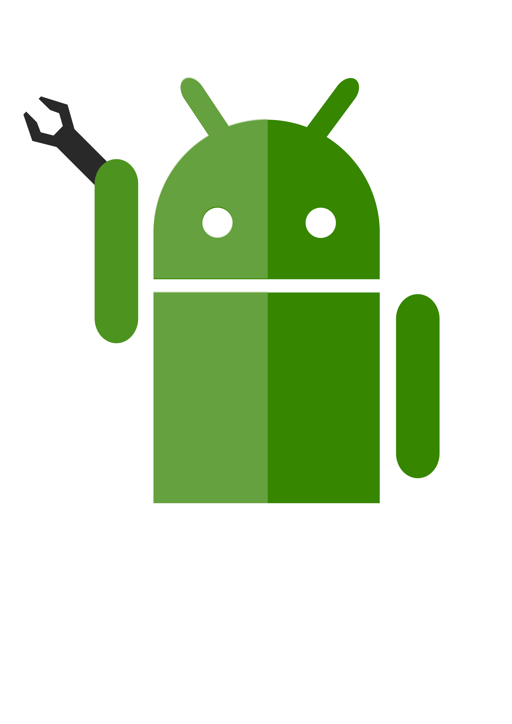 Android Robot Vector Clipart image.