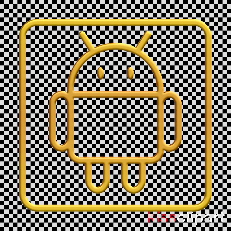 android icon logo icon robot icon clipart.
