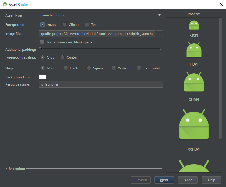 dominoc925: Use Android Studio's Image Asset to conveniently create.