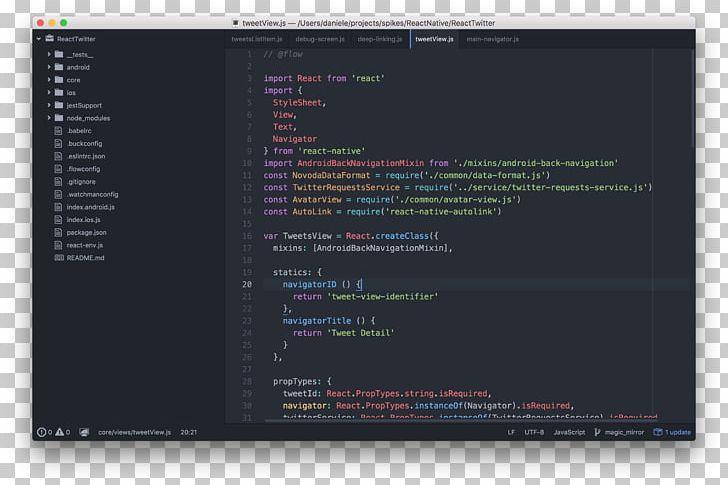 Screenshot Visual Studio Code Microsoft Visual Studio.