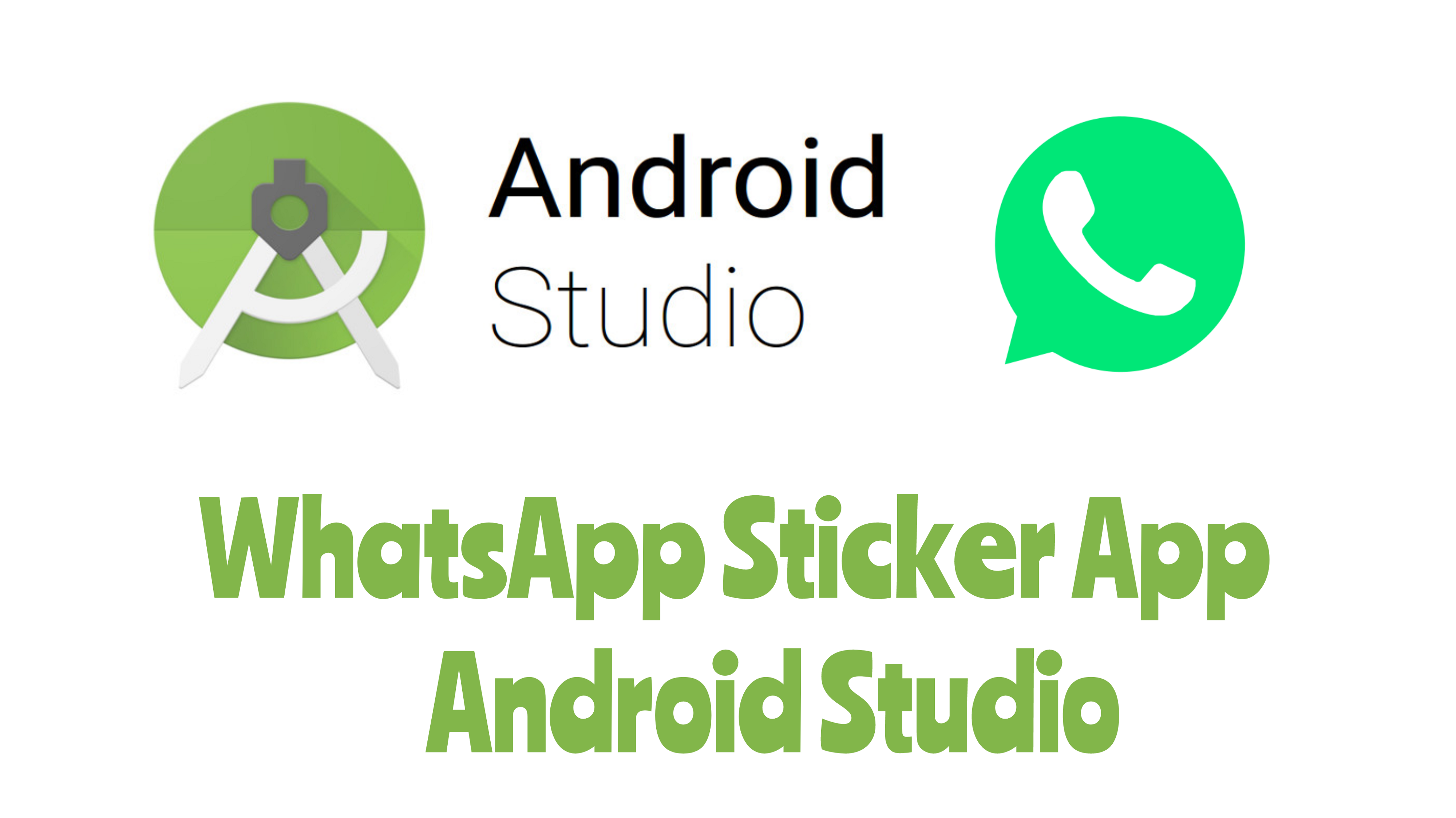 Creating WhatsApp stickers Application in Android Studio.