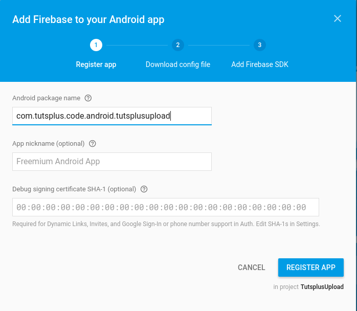 How to Upload Images to Firebase from an Android App.