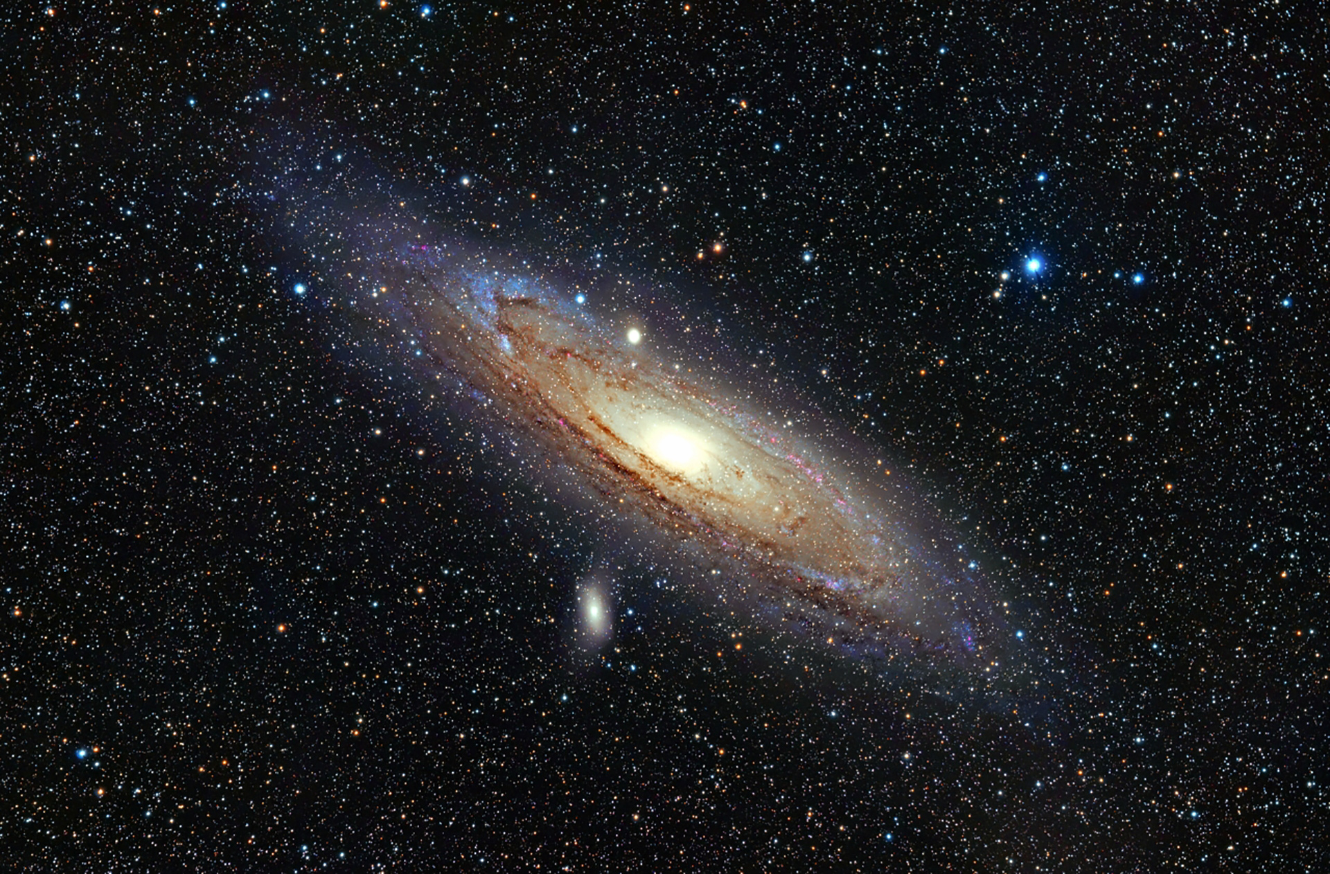 Andromeda Galaxy Wallpaper.