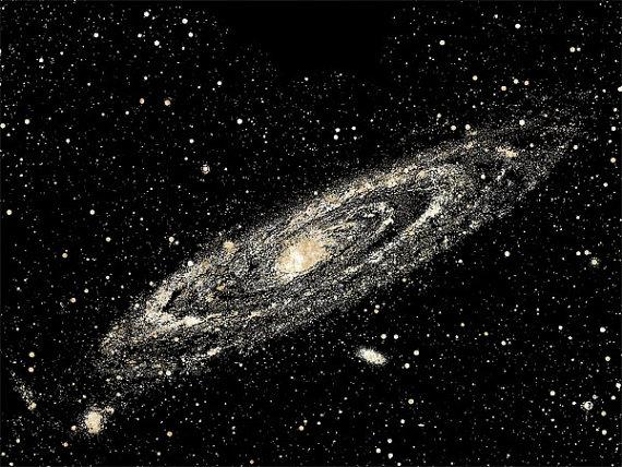 Items similar to andromeda galaxy png clip art celestial digital.