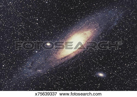 Picture of Andromeda Galaxy x75639337.