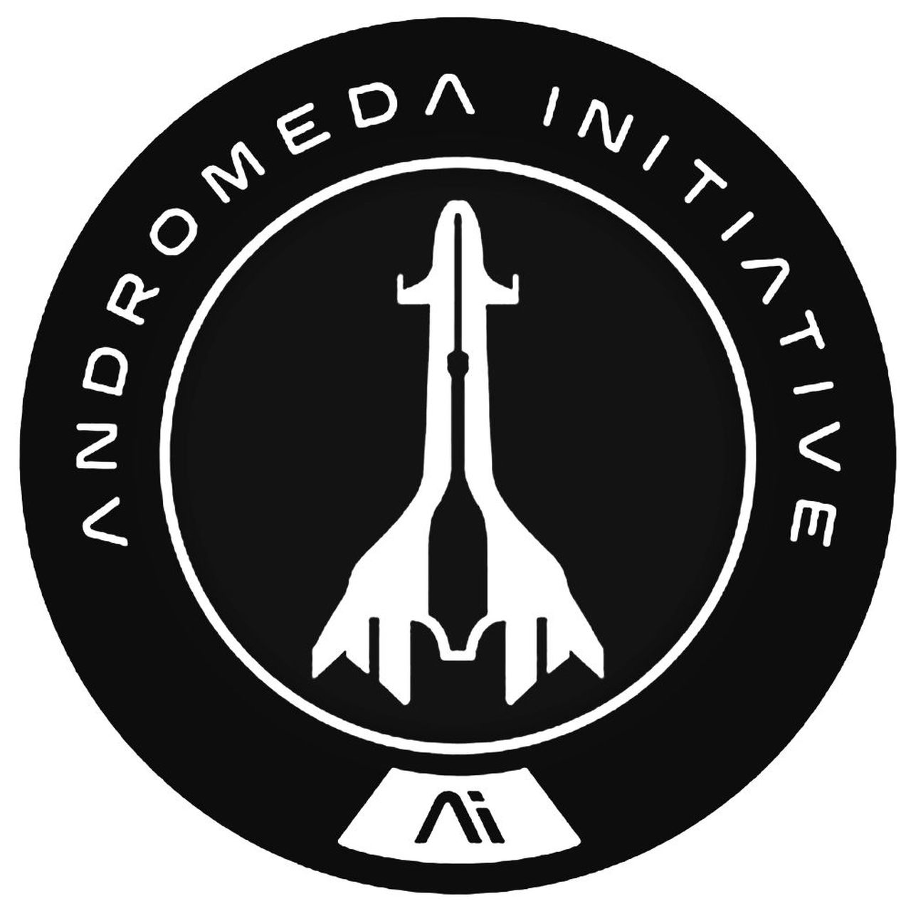 Mass Effect Andromeda Initiative Tempest Emblem For Decal.