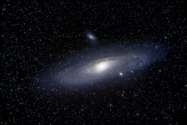 Download Free png Andromeda Galaxy with Compani.