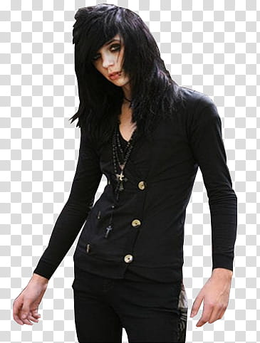 Andy Biersack transparent background PNG clipart.
