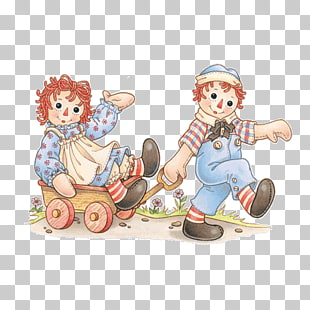9 raggedy Ann And Raggedy Andy PNG cliparts for free.