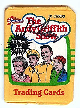 Ron Howard Autographed Sealed Trading Card Pack 1991 Andy.