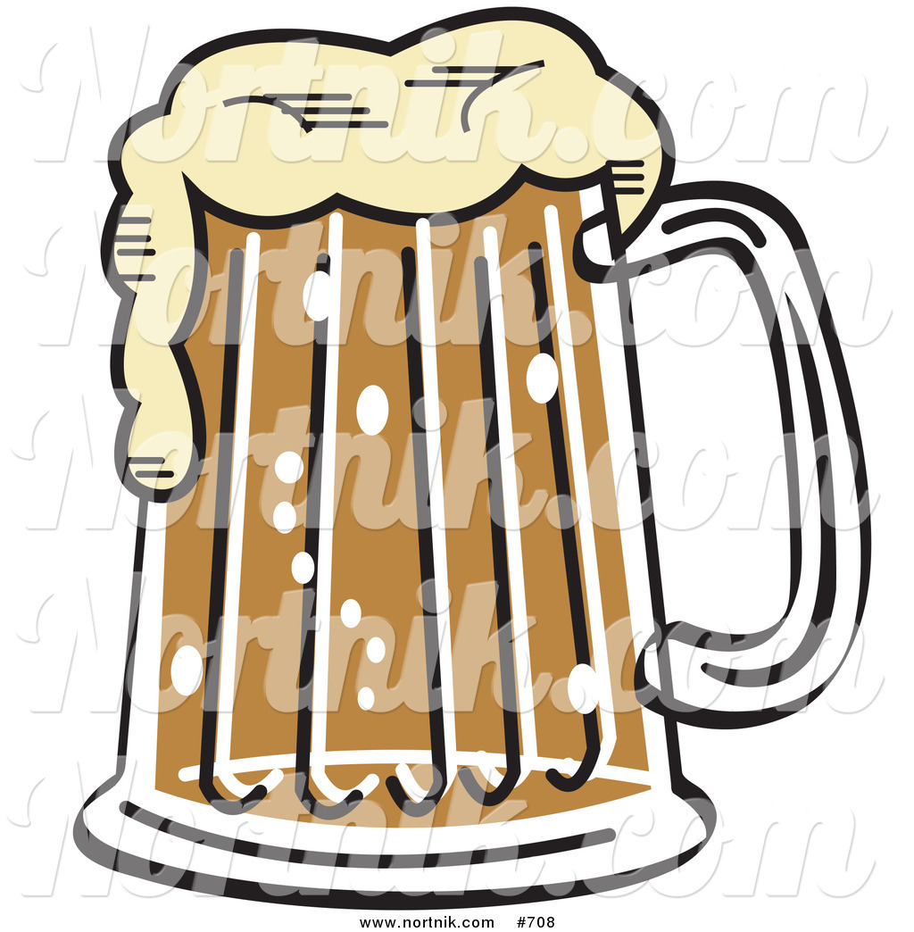 Beer Clipart by Andy Nortnik.