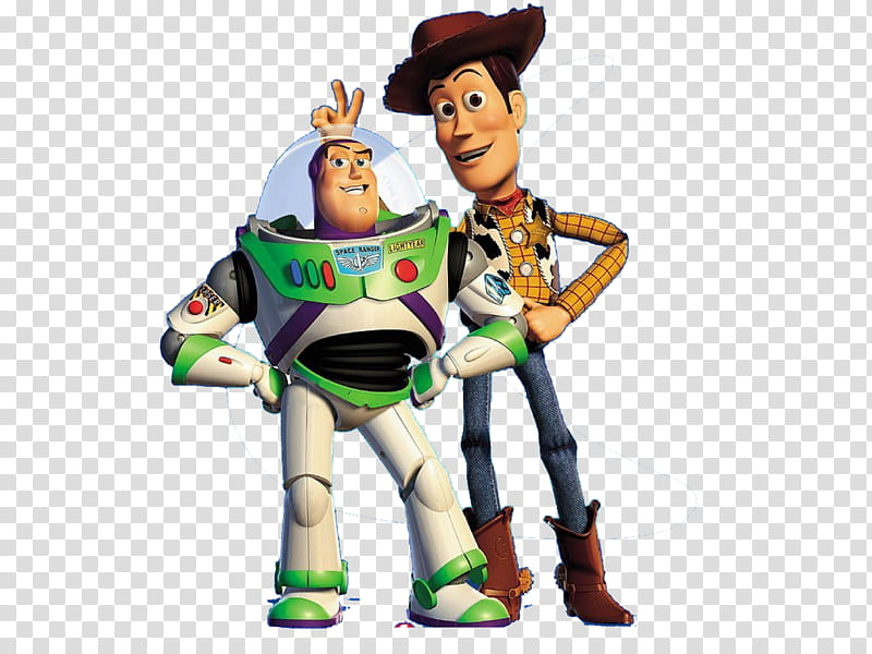 Toy Story, Toy Story Buzz Lightyear and Sheriff Woody.