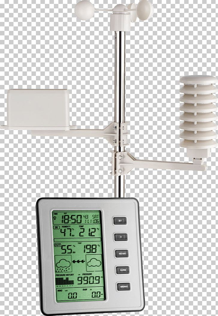 Weather Station Thermometer Meteorology Measurement.