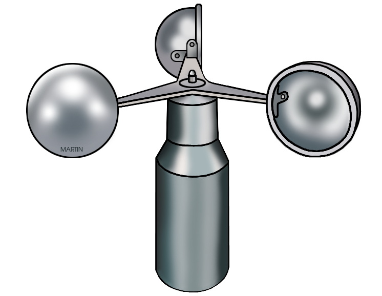 Anemometer Clipart.