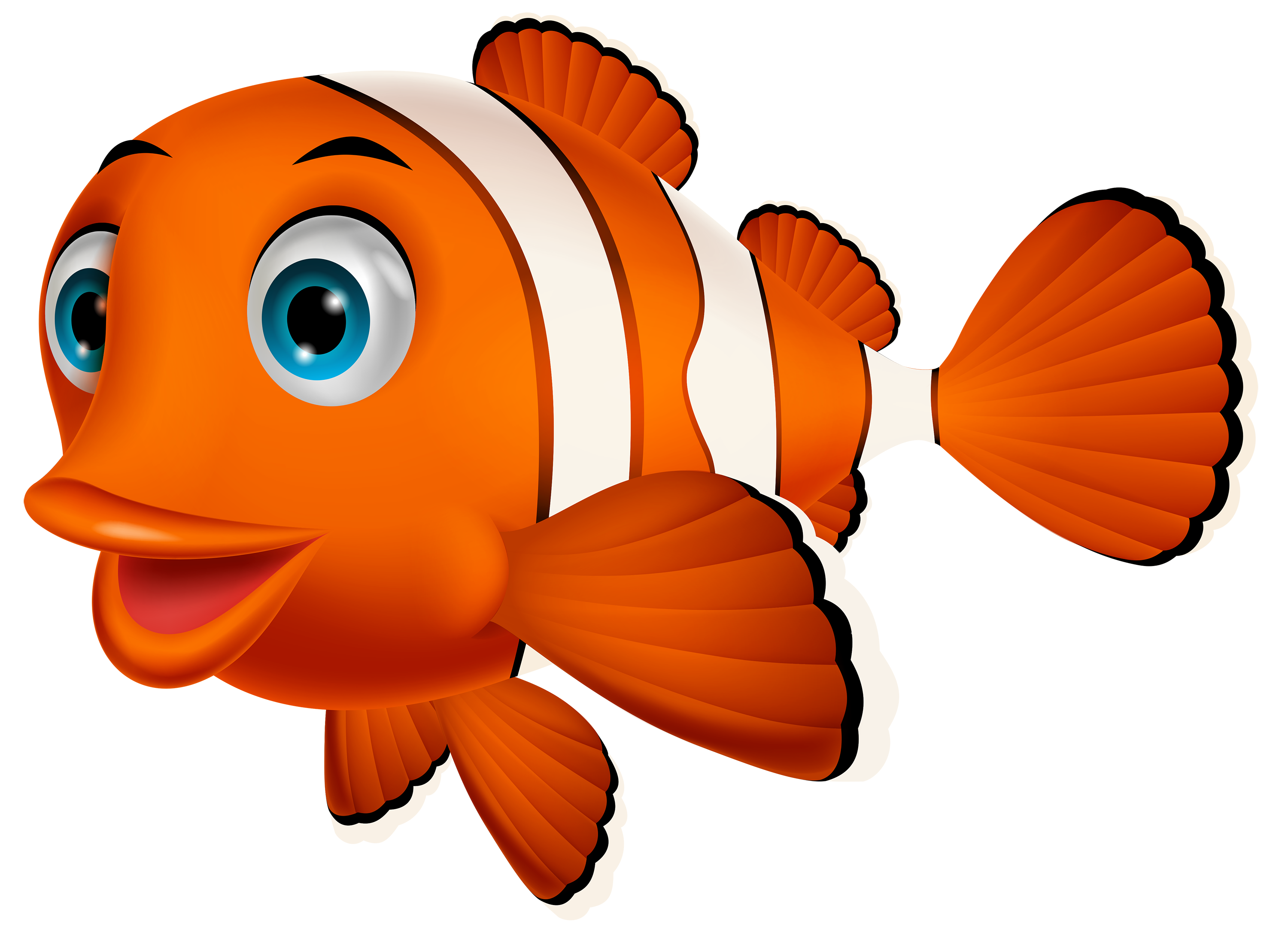 Clown fish PNG Clipart.