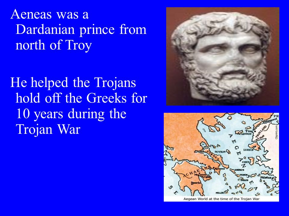 Aeneas Myth, Legend, or History?..