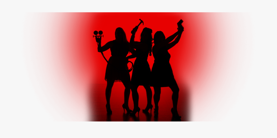 Charlie\'s Angels Silhouette Clip Art , Transparent Cartoon.