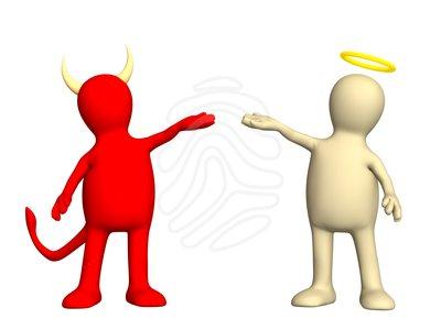 Angel Devil Clipart.
