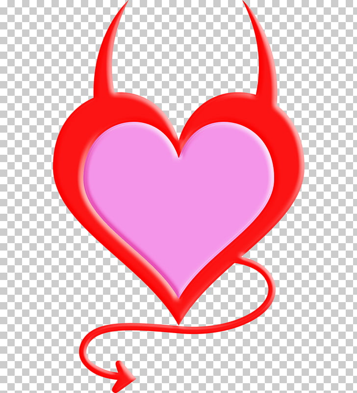 Devil , Love Angel Devil PNG clipart.