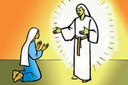 Mary And Angel Gabriel Clipart.