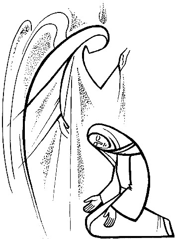 Advent clipart mary, Advent mary Transparent FREE for.