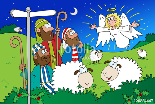 Angels clipart shepherd, Angels shepherd Transparent FREE.