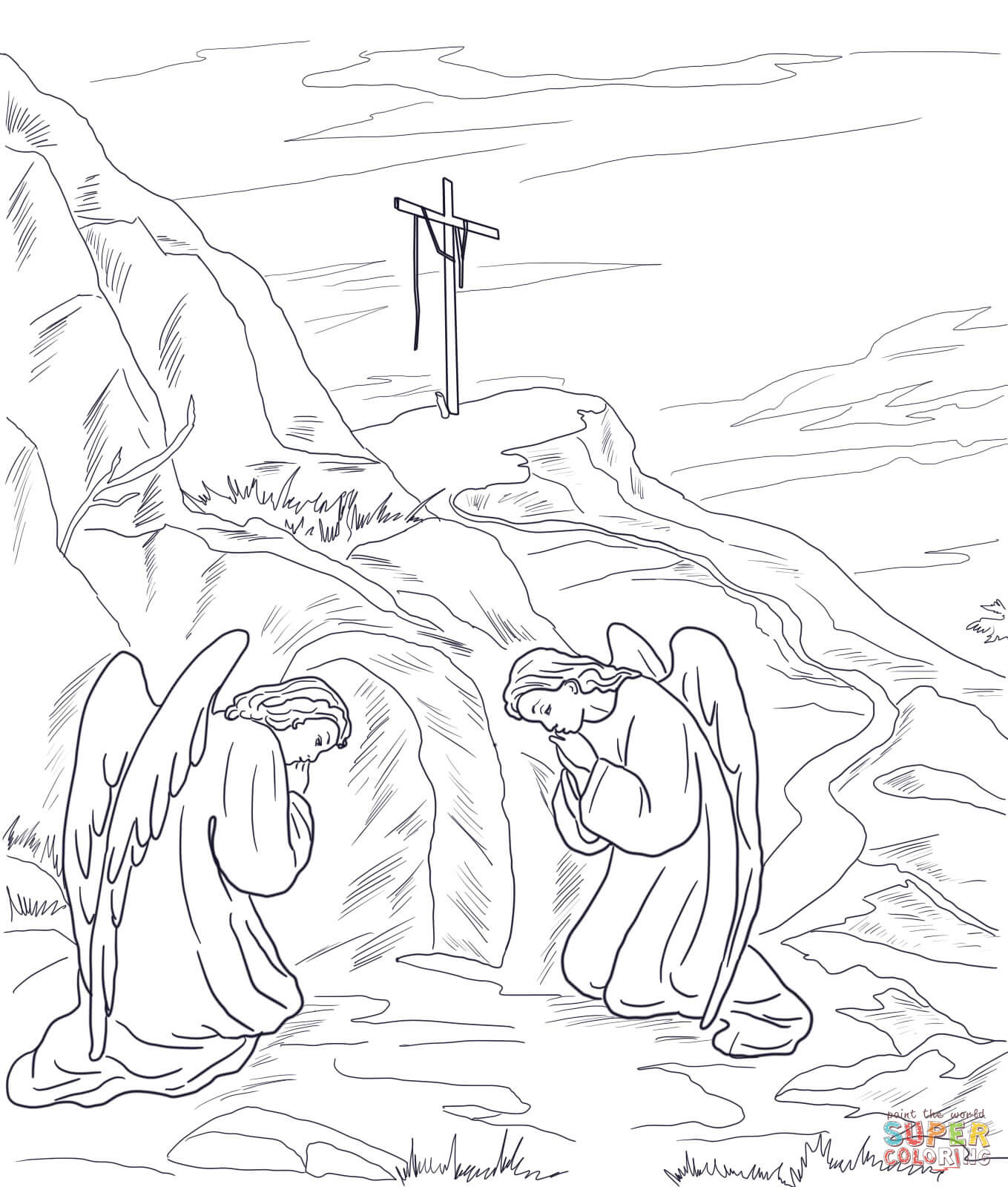 120 Empty Tomb free clipart.