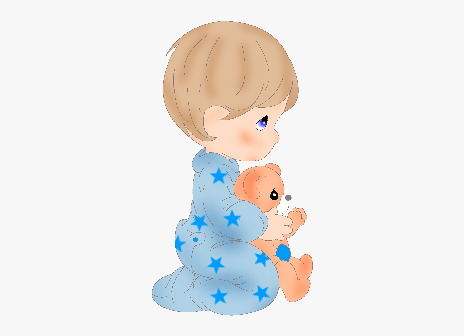 Clipart Angel Baby Boy.