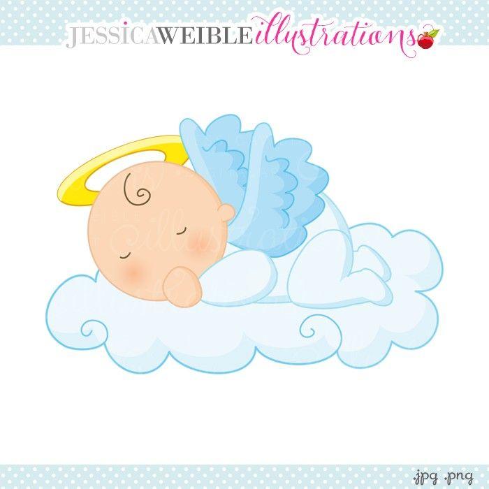 angels baby vector.