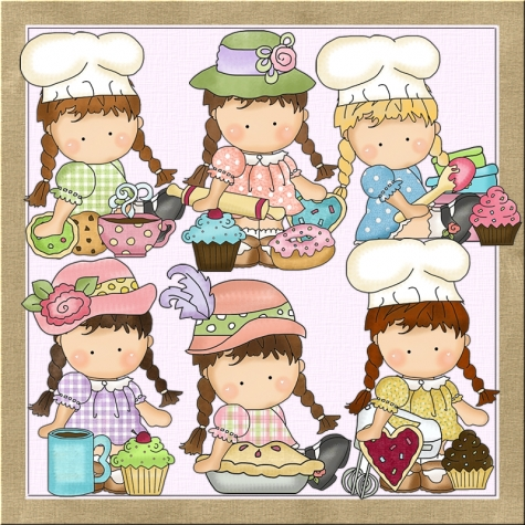 Agnus At The Bakery Clip Art.