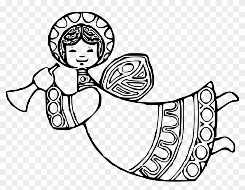 Banner Black And White Stock Baby Angel Png Transparent.