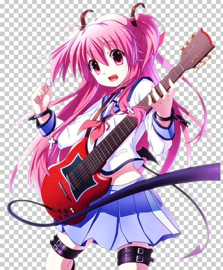 Yui Girls Dead Monster Female Fan Art PNG, Clipart, Angel.