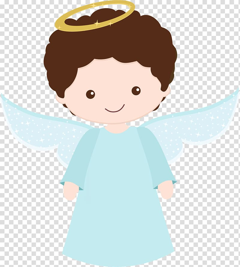 Boy angel , Guardian angel Baptism Godparent Nativity of.
