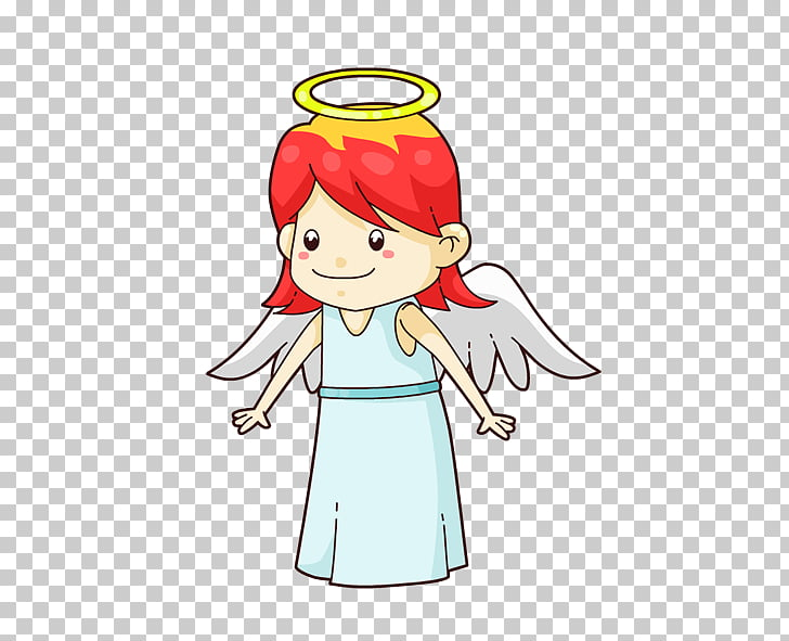 Angel Cartoon Cherub , Cartoon Angel PNG clipart.