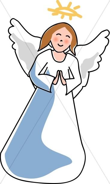 Friendly Angel Child.