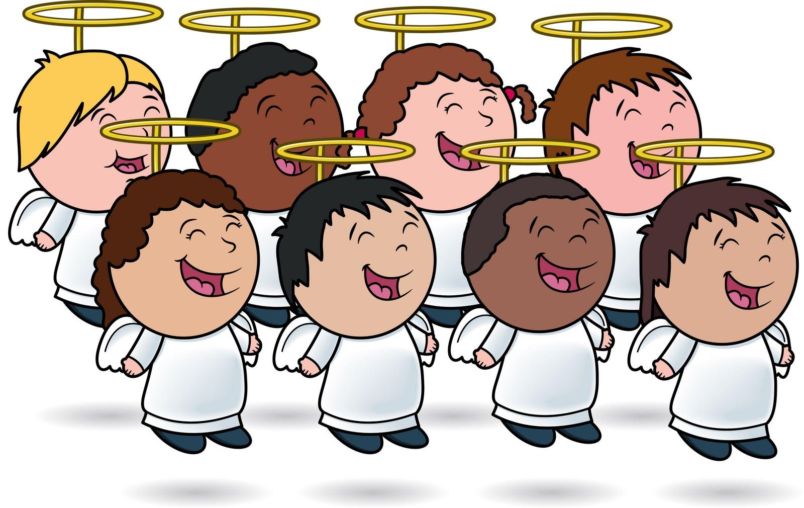 Choir Of Angels Clipart.