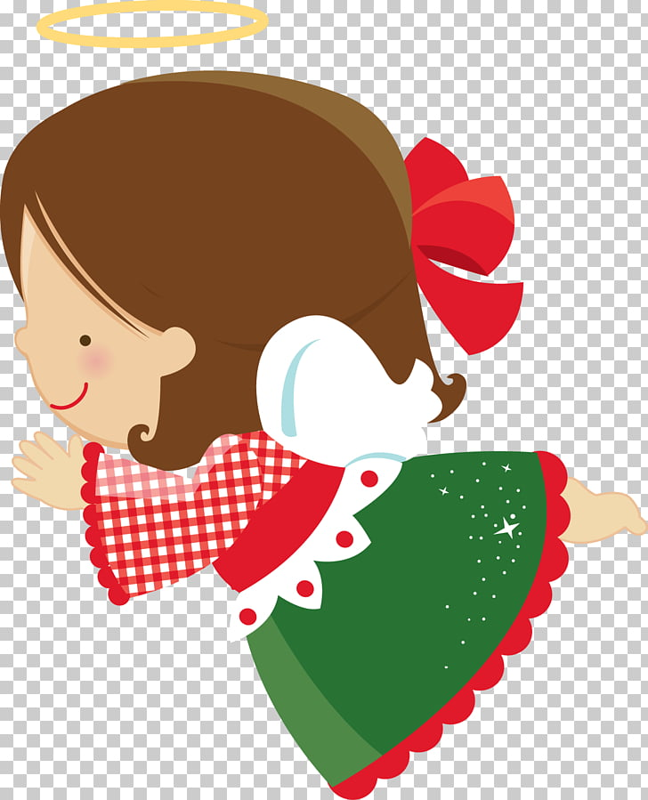 Christmas gift Angel Christmas elf , cooking girls PNG.
