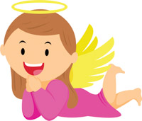 Free Angel Clipart.