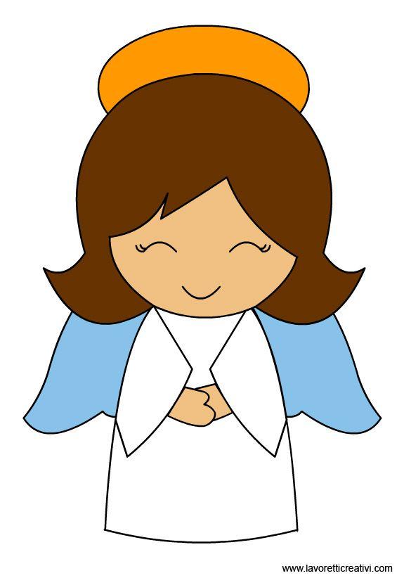 Girl Angel Clipart.
