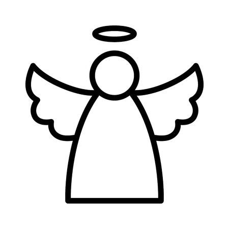 Black and white angel clipart 4 » Clipart Portal.