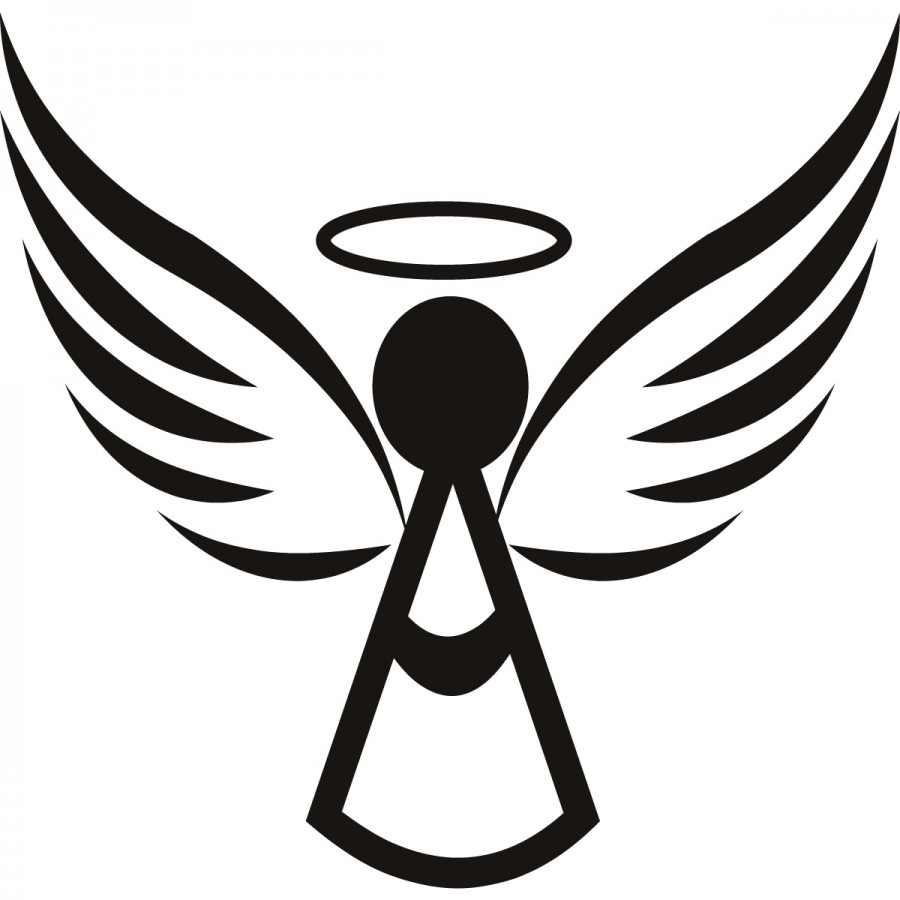Angel Wings Clipart Outline ClipartFest.