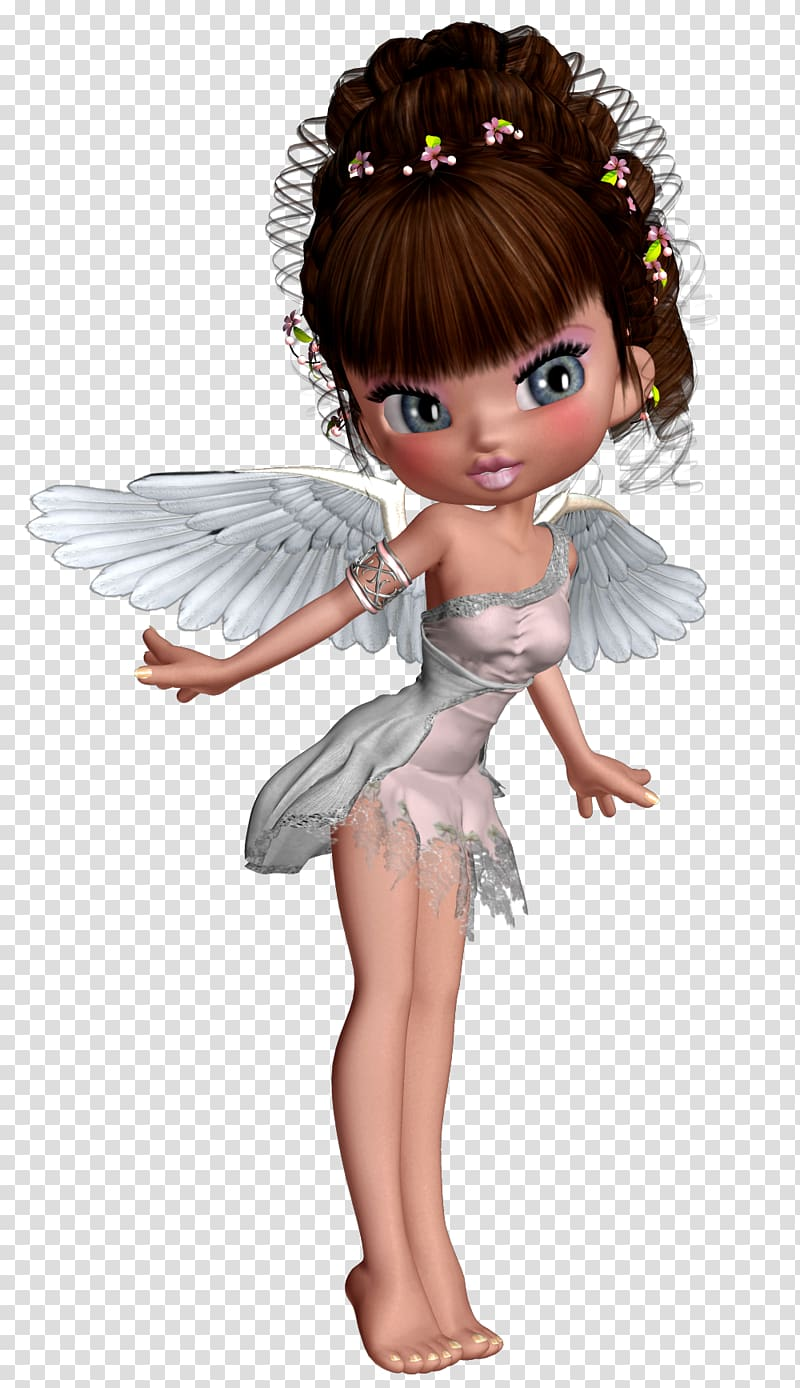 Female angel illustration, Angel 3D computer graphics , Cute.