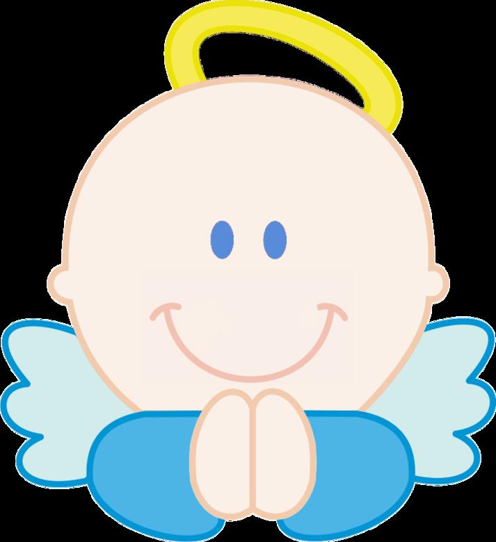 Baby angel clip art.