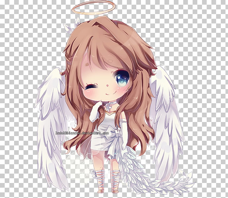 Chibi Drawing Anime Manga Art, angel baby PNG clipart.