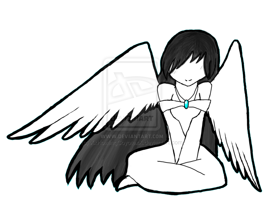 Anime angels clipart.
