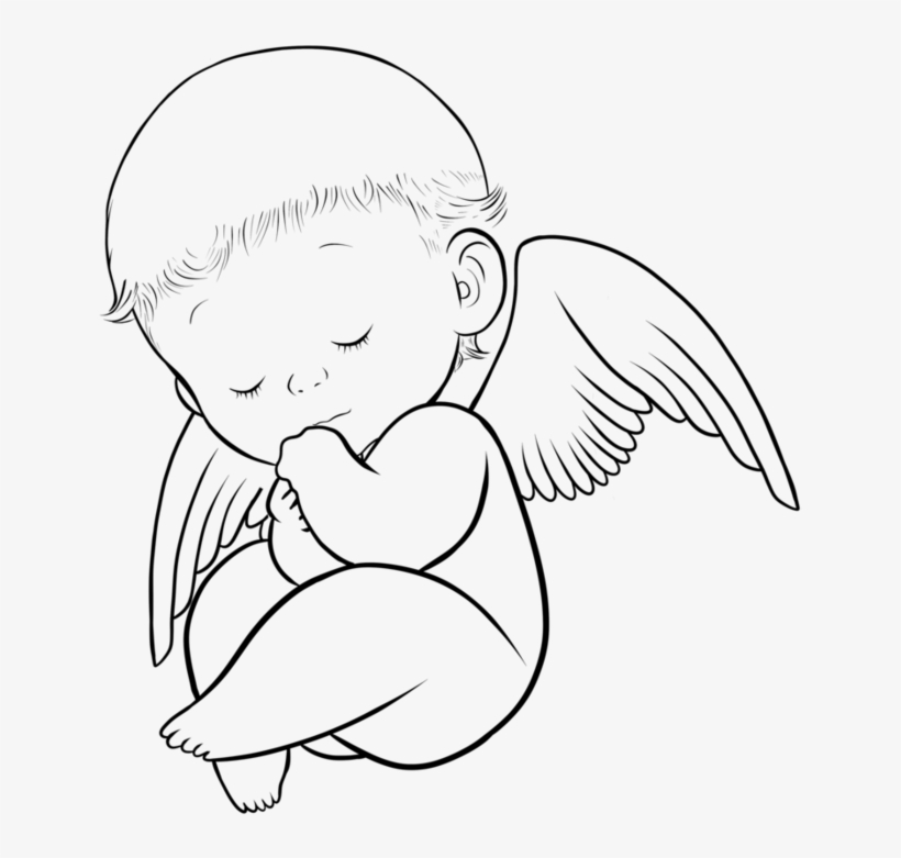Babies Clipart Angel Wing.