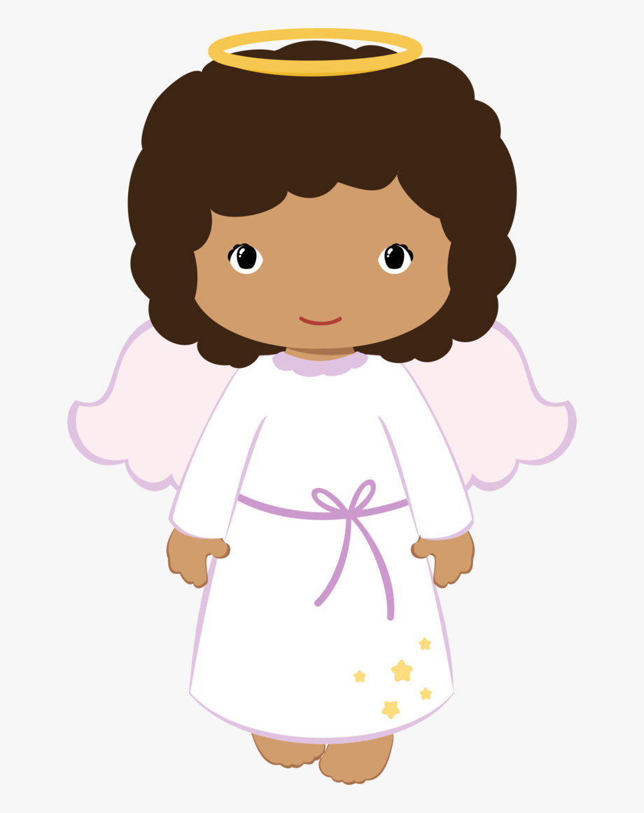Angel Clipart Brown Hair.